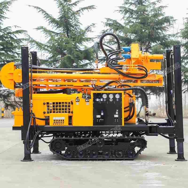 环境取样钻机 直推式履带环境监测取样钻机小型土壤取样钻机厂家