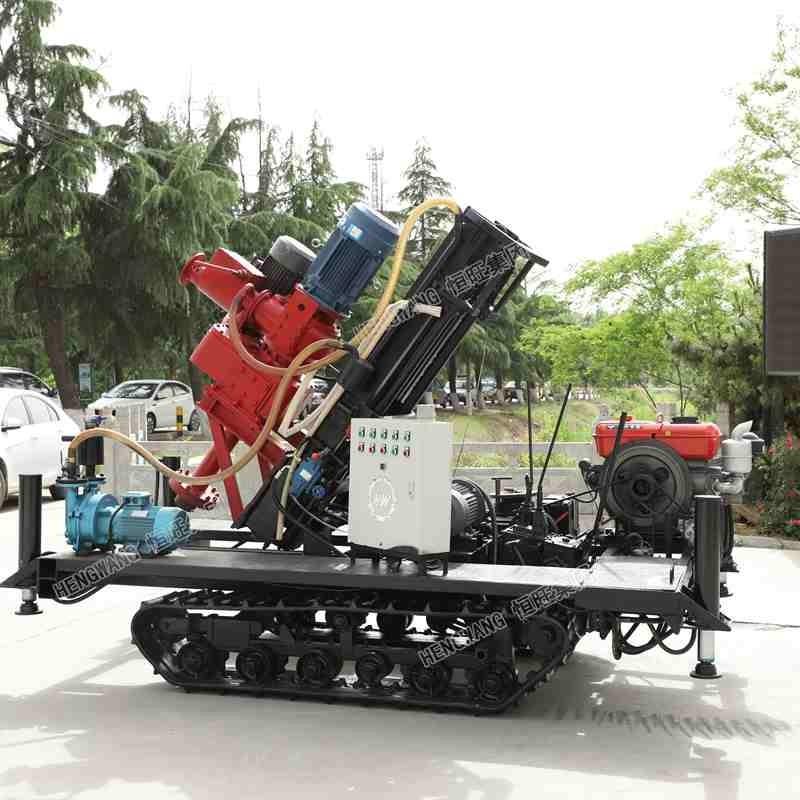 广西打井履带式反循环钻机?100米大孔径地基打桩机厂家勘探钻机