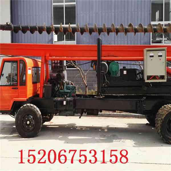 专业生产打桩机螺旋打桩机价格挖机打桩机建筑工地打桩机厂家