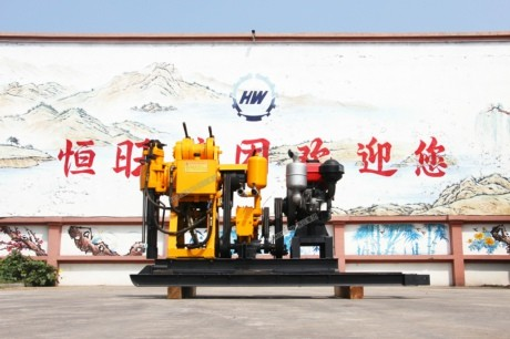 礼仪之邦山东济宁 厂家直销HW-190地质勘探钻机 柴油勘探钻机