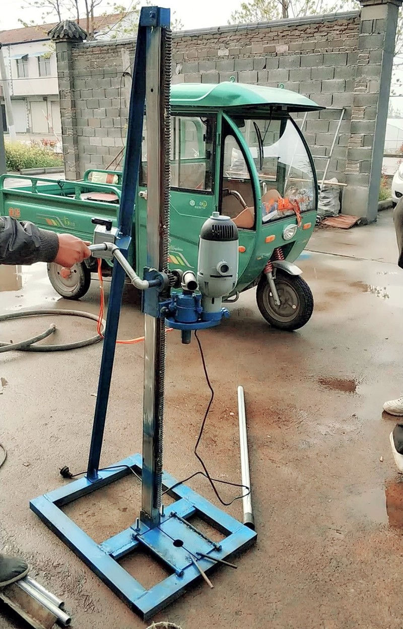 原厂家 架子打井机家用电动打井机 小型水井钻机 钻头