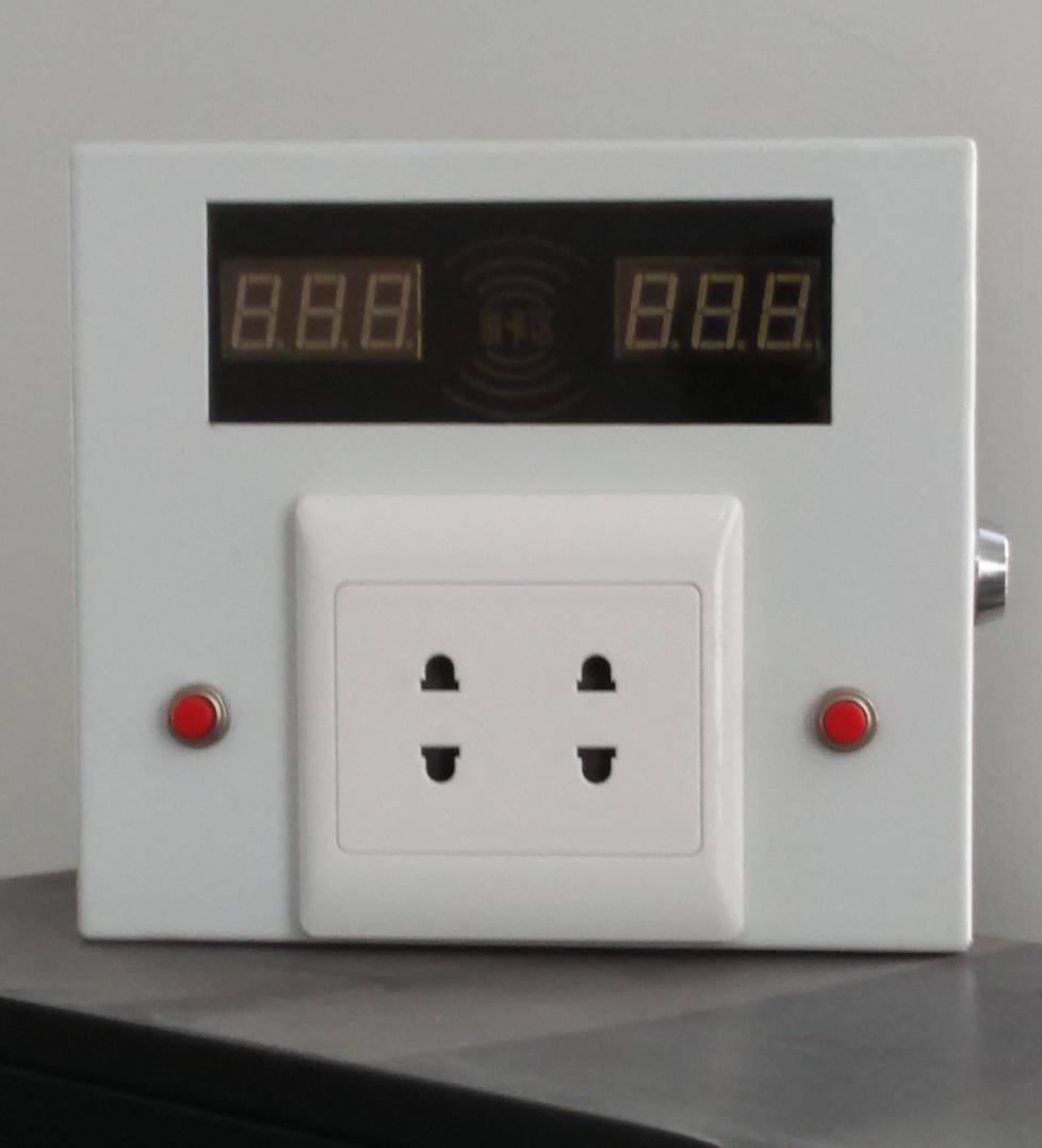 电动车车棚两路刷卡计时充电插座
