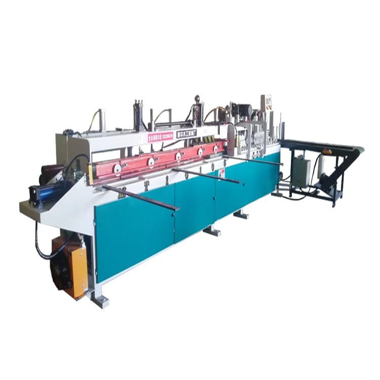 建华mx1225型自动双头梳齿机 木工接木机实木指接机 开榫机流水线设备