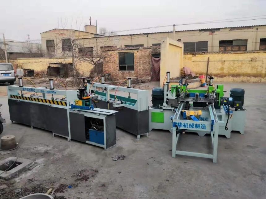 任县木工双端梳齿机短木接长机全自动工地见着方木指接机设备