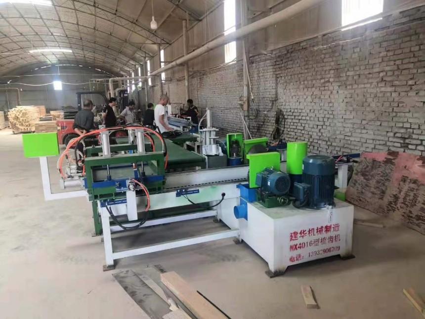 梳齿机 全自动双头梳齿机厂家供应 木方开齿机AB型梳齿开榫机厂家