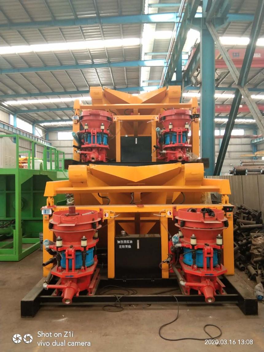 河南郑州建特重工JPZ-7m3*2-自动上料喷浆机组