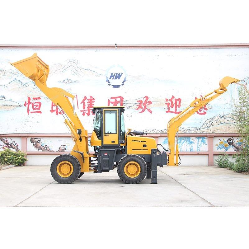 挖掘装载两头忙铲车挖机一体机装载挖掘一体机前铲后挖两头忙