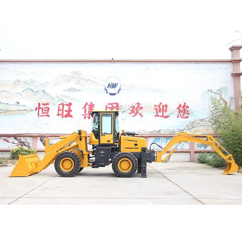 两头忙挖掘装载机多功能挖掘装载机建筑工地铲车挖掘装载机两头忙