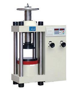 试验机之YES-2000型数显式液压压力试验机