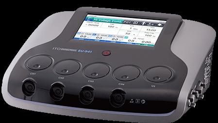 日本伊藤四通道中低频电刺激/超声波组合治疗仪EU-941