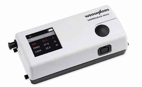万曼SOMNOcheck micro 手腕式睡眠呼吸障碍分析仪