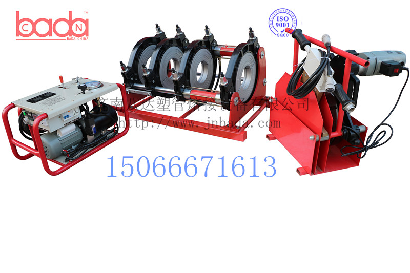 八达焊机pe管材液压半自动热熔对接焊机pe焊接机