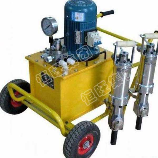 (安全环保效率高)250型岩石劈裂机 电动、汽油、柴油动力泵站