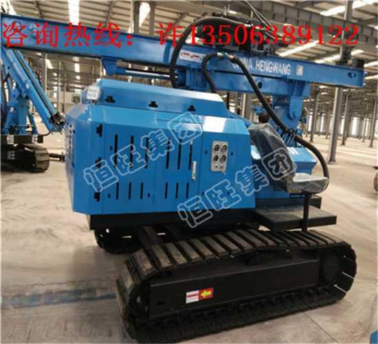 HWZG-600L履带360度液压锤打桩机6米高配液压锤打桩机厂家