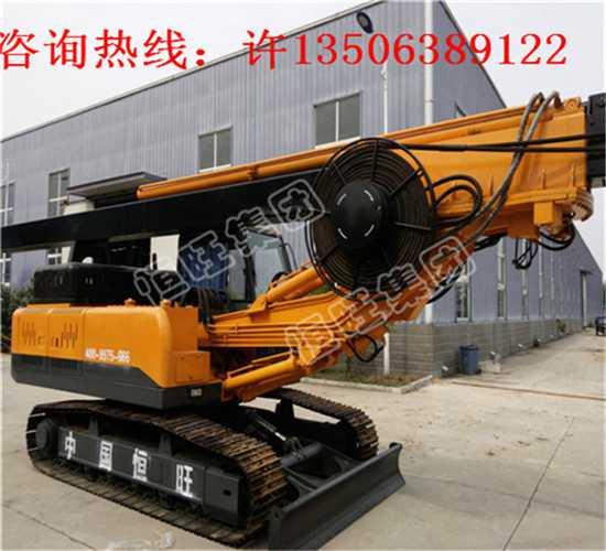恒旺履带式旋挖钻机大口径地基旋挖打桩机生产厂家