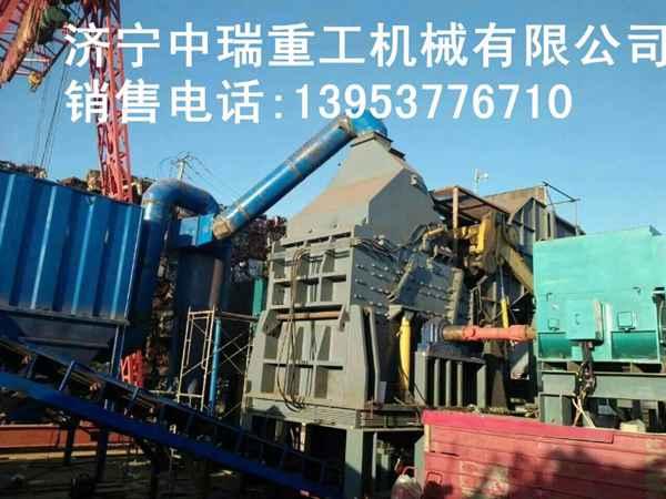 衡阳大型破碎机 废钢废铁破碎机厂家 金属破碎机多少钱