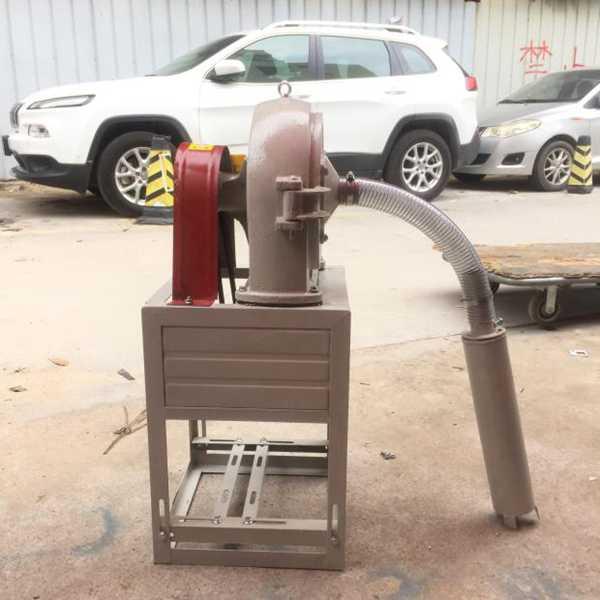 玉米粉碎机自吸式多功能五谷杂粮磨粉大米打粉机饲料颗粒打粉机