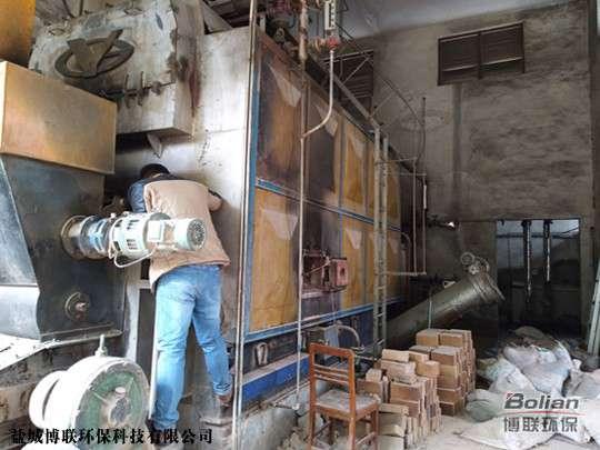 宝鸡锅炉改造生物质采用固气复合燃烧运行稳定