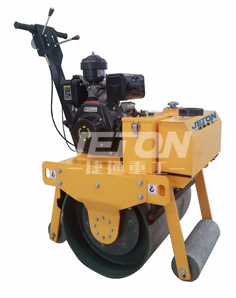 山东手扶式单钢轮压路机