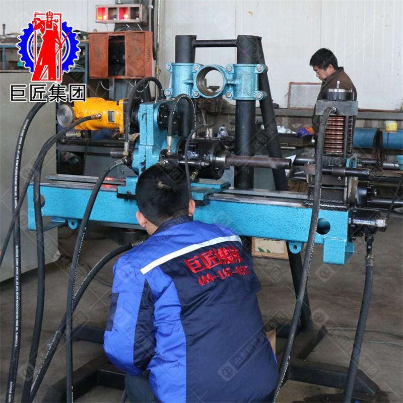 华夏巨匠KY-150金属矿山全液压探矿钻走量进口动力岩芯取样地质勘探钻探机配件