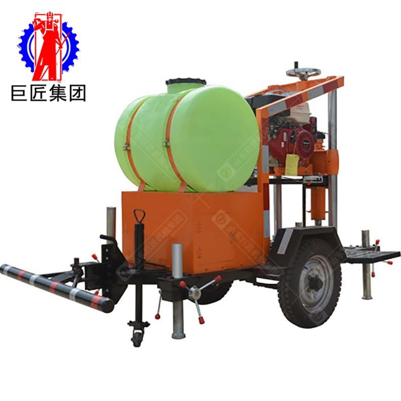 拖挂式混凝土钻孔取芯机 1-2人操作方便 性价比高