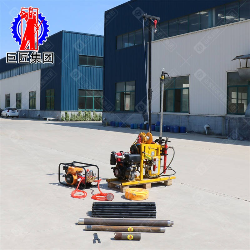 供应YQZ-50B 50米小型岩芯钻机 轻便勘探钻机