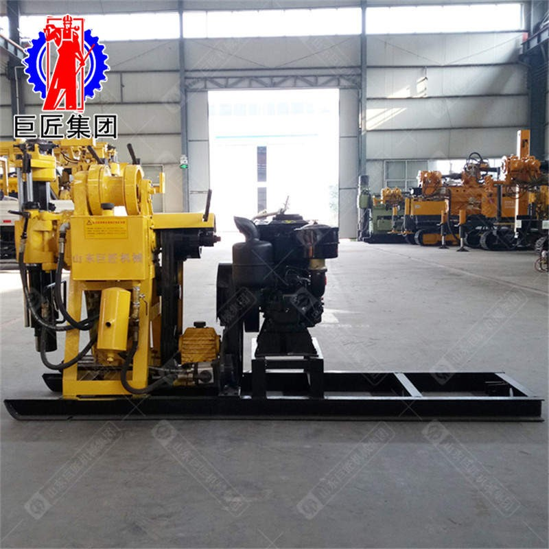 华夏巨匠HZ-130Y 岩心钻机  工程勘察钻机130米
