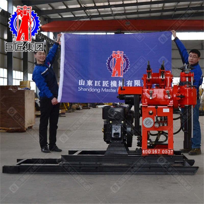 华夏巨匠HZ-130YY地质取芯钻机130米小型液压岩心勘探
