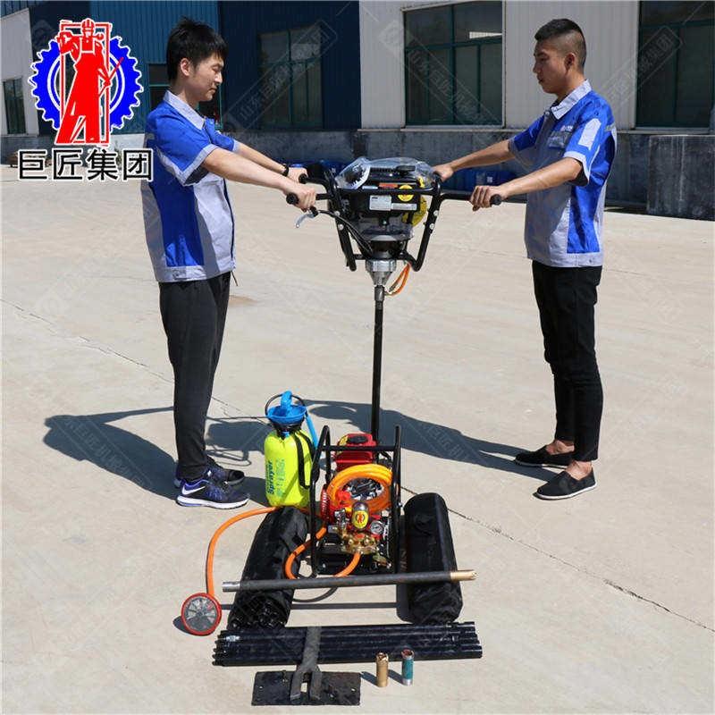 BXZ-1L型立式背包钻机 一、BXZ-1L型立式背包钻机简介 BXZ-1L型立