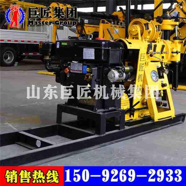 供应小型水井钻机 全液压钻井机HZ-200YY移机式