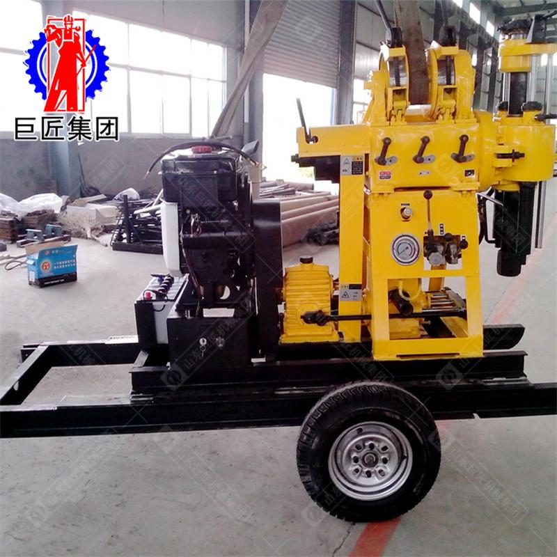 华夏巨匠 XYX-200轮式液压岩芯钻机