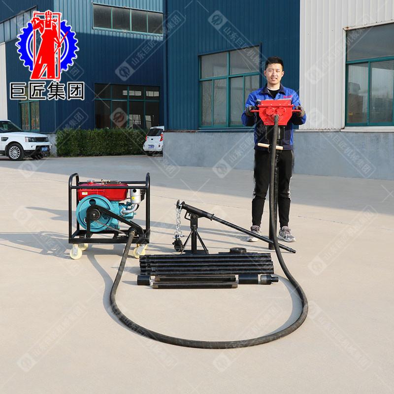 华夏巨匠 QTZ-4柴动便携式取土钻机