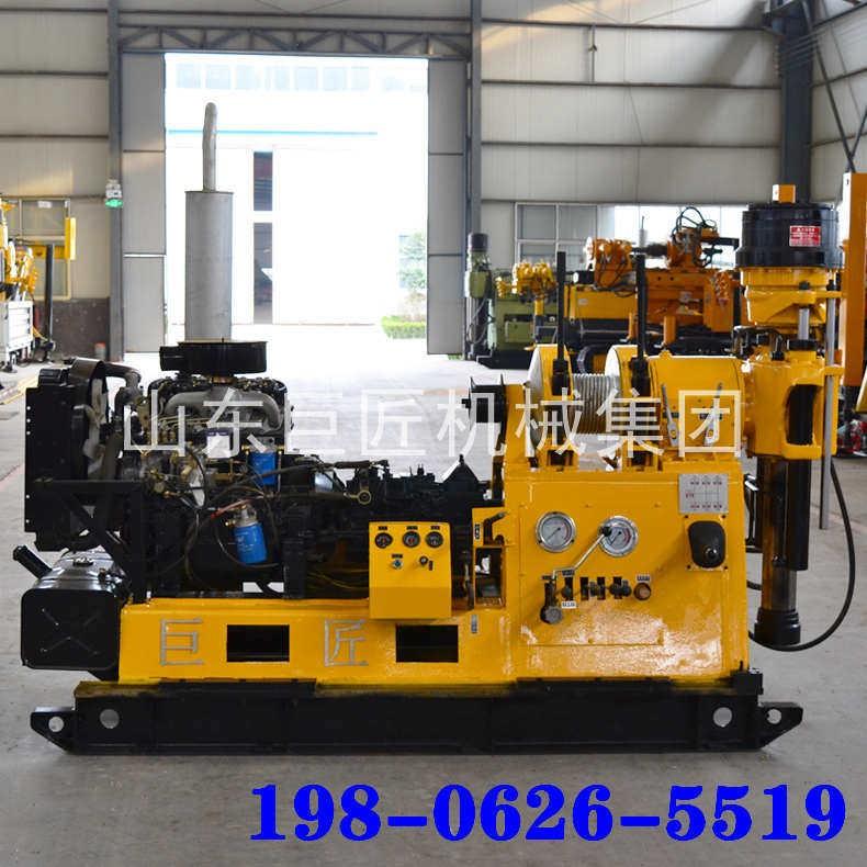 适用于各种地形大型工程打井钻机地质勘探钻机可打600米
