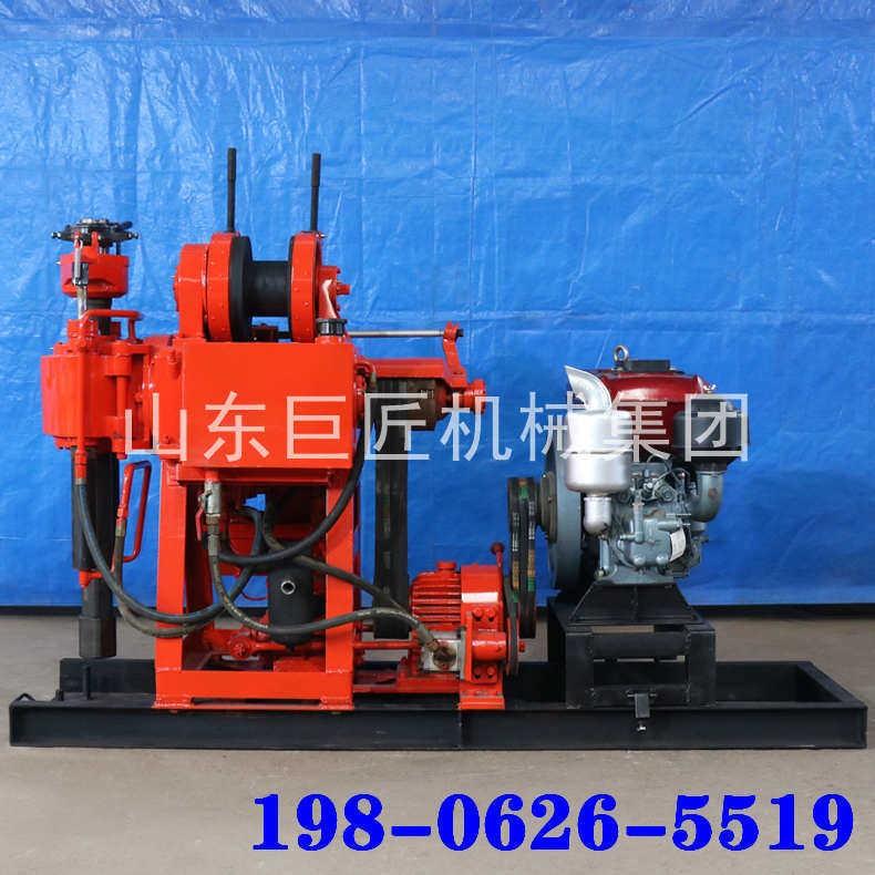 山东巨匠XY-180型地质勘探水井钻机岩心钻机