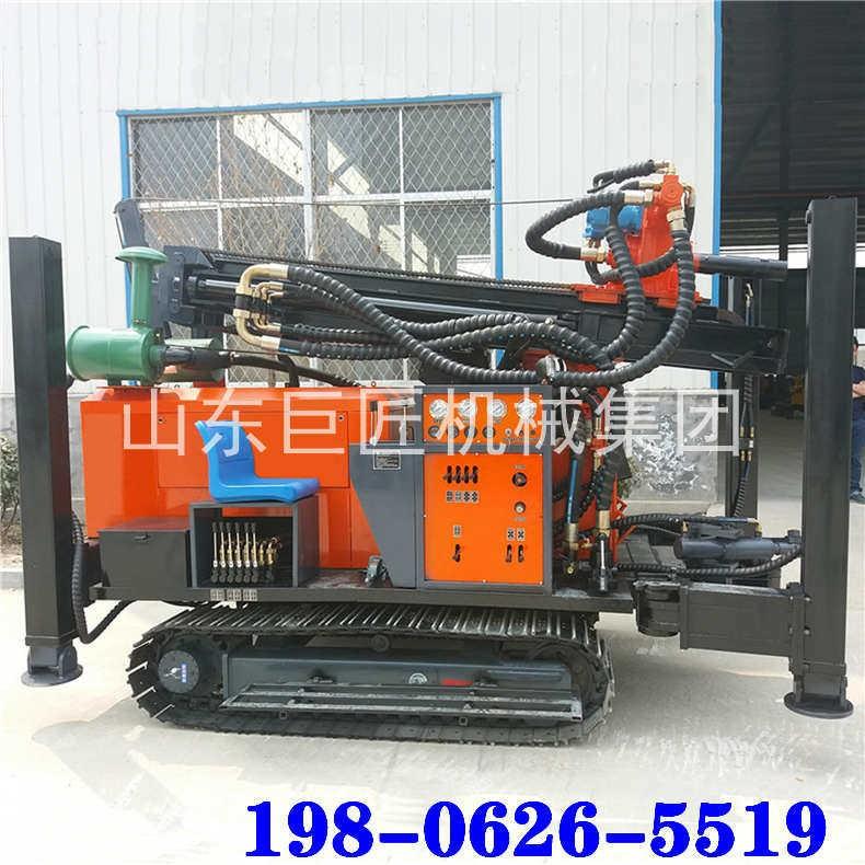 巨匠供应高效气动钻井机FY260履带式气动水井钻机大型打井设备
