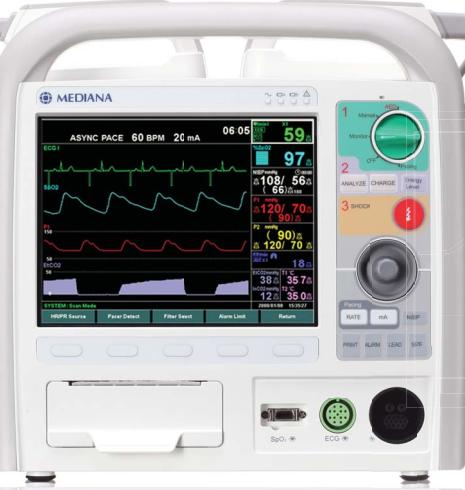 除颤监护仪--美迪安纳D500