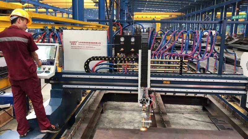 数控火焰等离子板材下料切割机能切割多厚的管材