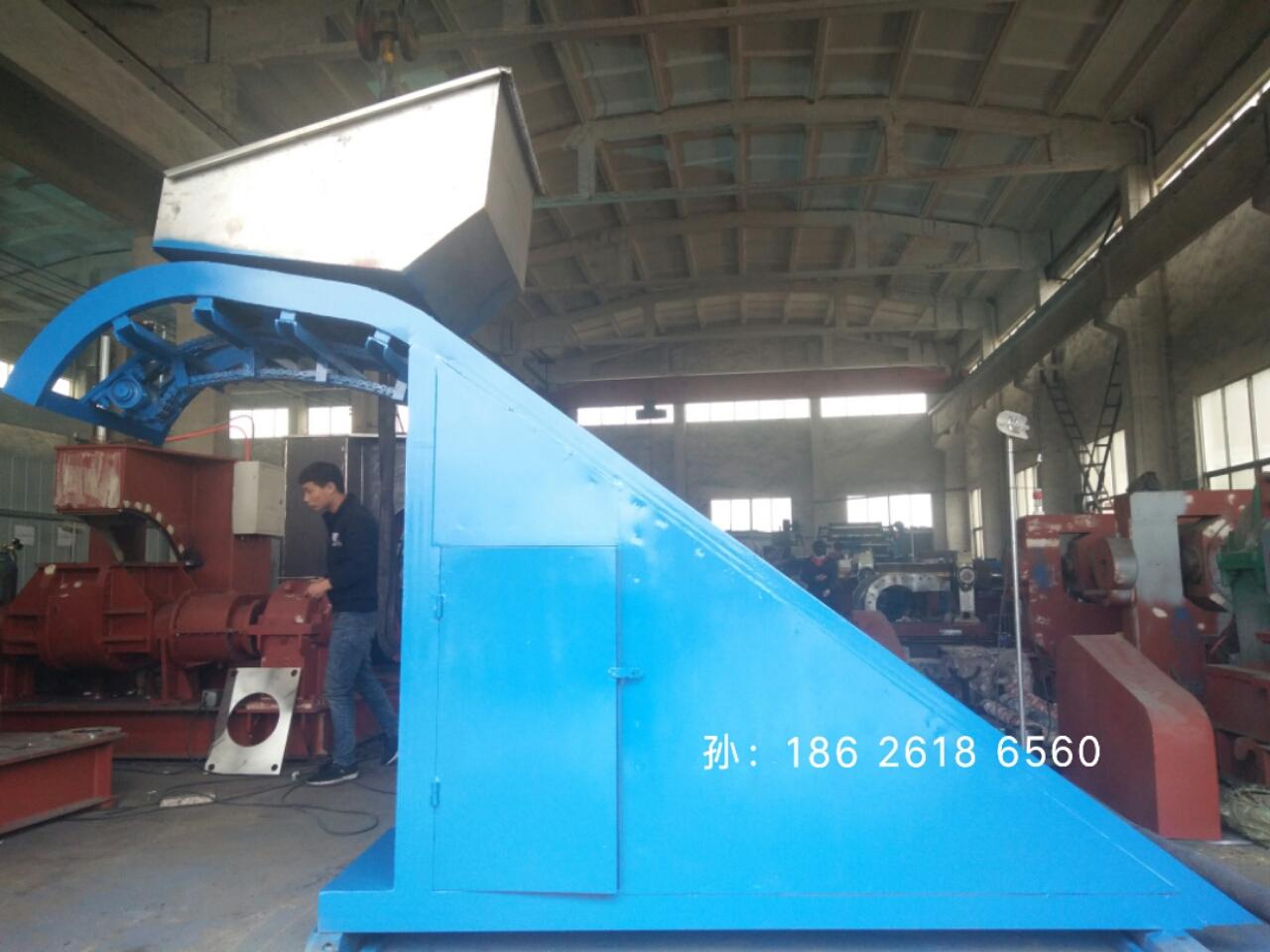 密炼机到开炼机之间橡胶输送设备,T22提升机,翻斗式上料机