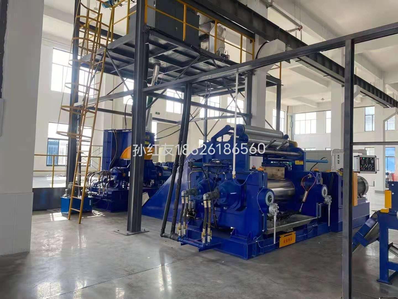 上海密炼机中心系统供料设备 110升密炼机 提升机 22寸开炼机