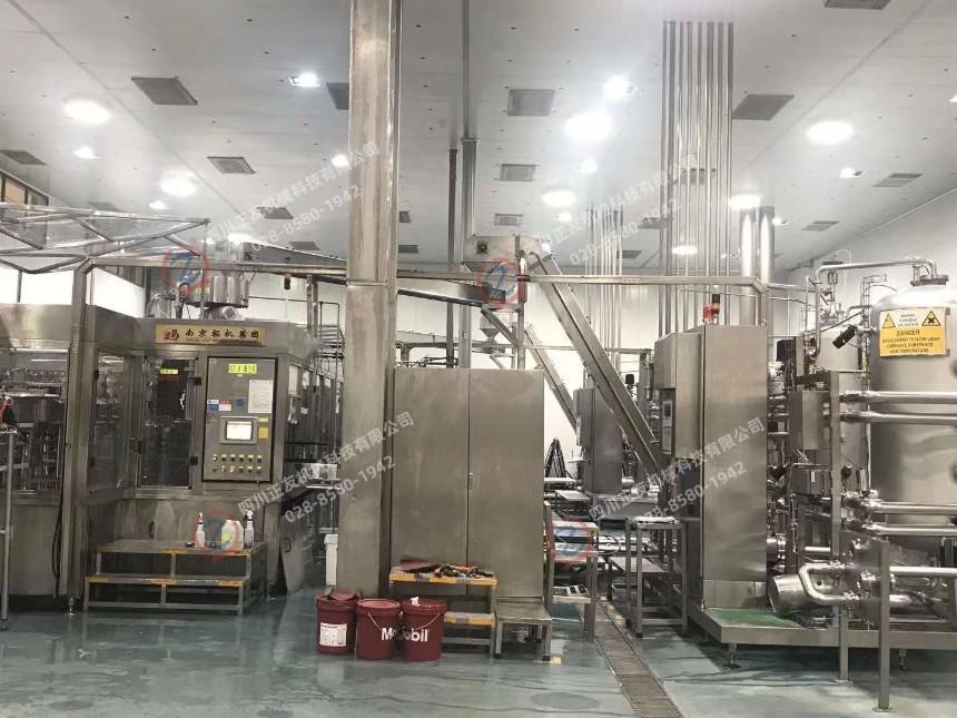 出售碳酸饮料生产线