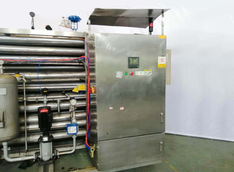 出售天津天巴技术公司出厂5.3吨杀菌机