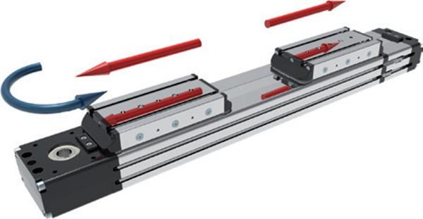 意大利MOTUS模组 MTF42D同步带直线模组 直线滑台 线性模组