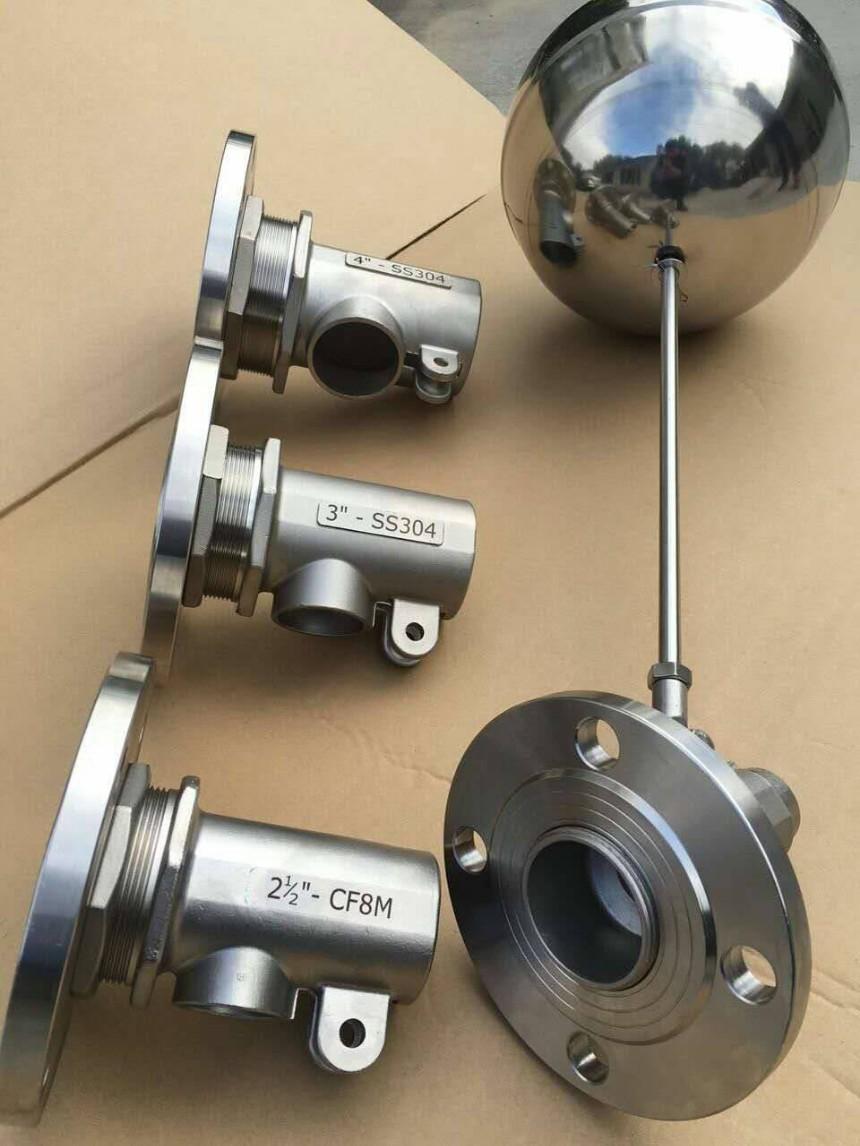 不锈钢法兰浮球阀LDFQ-02 上海莱德阀门