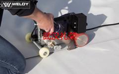 帐篷布焊接机、自动热风拼接机FOILER ET