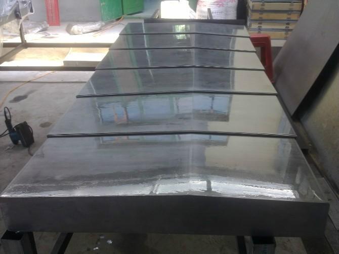 生产机床钢板防护罩密封