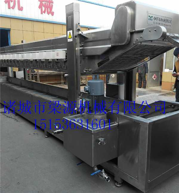 鱼豆腐油炸机全自动鱼豆腐成套加工设备厂家直供