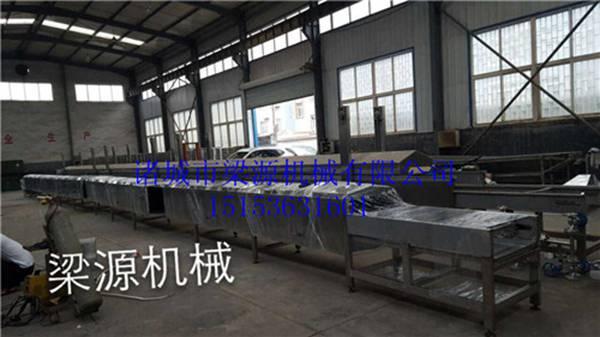 全自动鱼豆腐生产线大型全自动蒸线设备