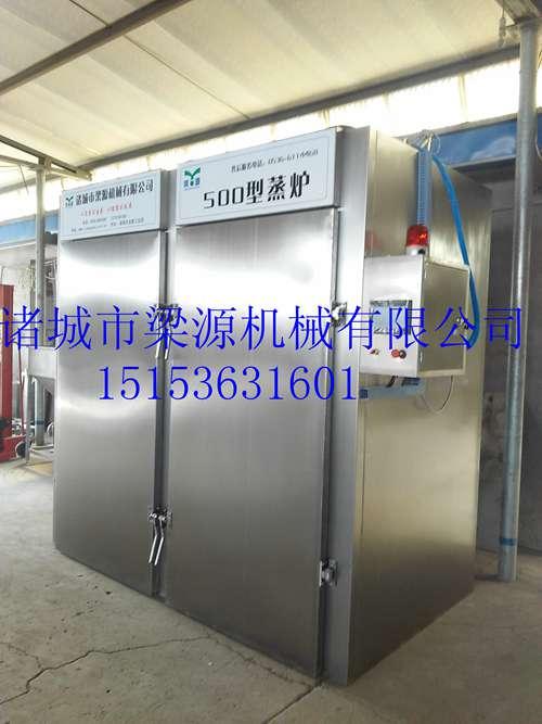 山东梁源千页豆腐加工设备全自动蒸箱设备