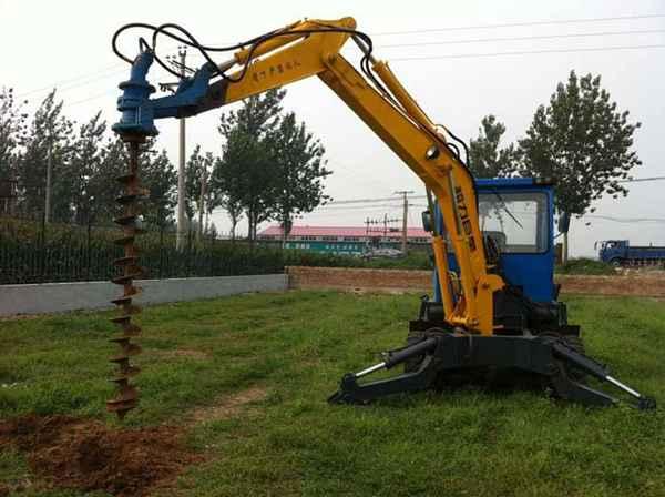 专业生产挖掘机钻孔机 挖掘机钻眼机 挖掘机打桩机