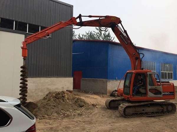 全新挖掘机钻孔机 挖掘机打眼机的生产厂家